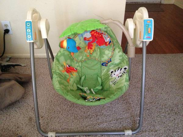 fisher price open top take along swing instructions
