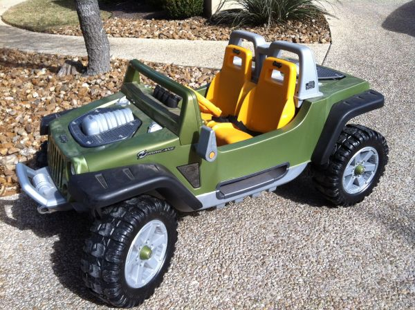 Power Wheels Jeep Hurricane - $250 (IH-10 and Leon Springs)