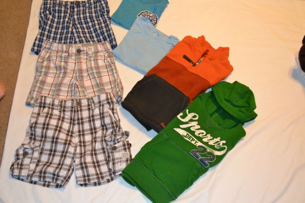 Little Boys clothes size 3T - 7 pcs - $5 (NW San Antonio Sea World are)