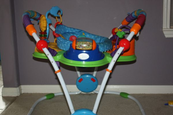 Baby bouncer, walker, and swing. - $120 (Northcentral)