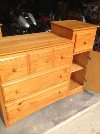 Child Craft Changing Table Dresser For Sale