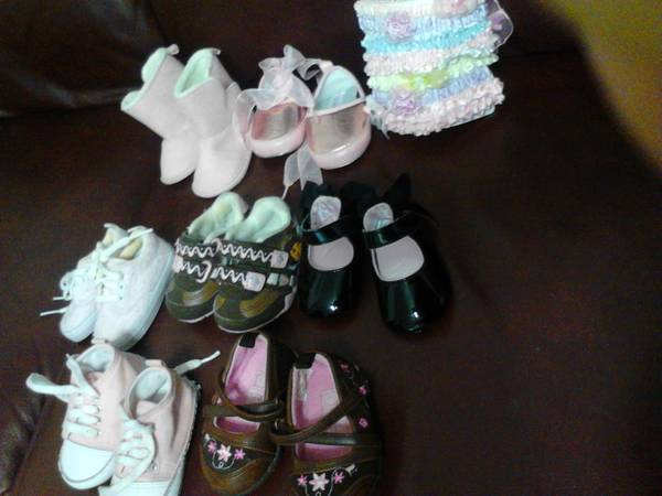 baby girl clothes 0-6 months - $50 (West Side )