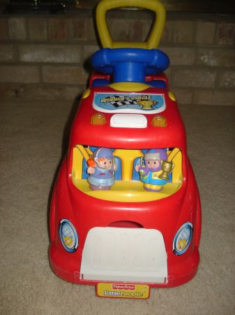 Fisher Price Little People Ride On Car For Sale