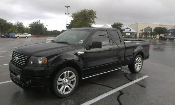 ..........2006 FORD F-150 HARLEY DAVIDSON EDITION (cash or trade)