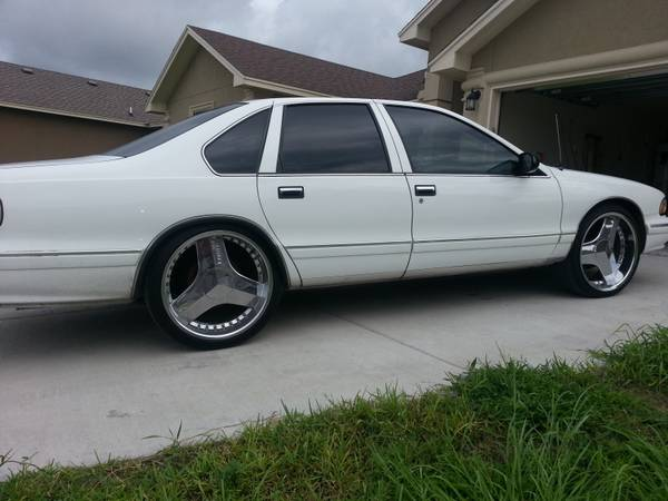 96 SS Caprice Lt1 on 22 Blades wts or trade - $3300 (corpus christi)