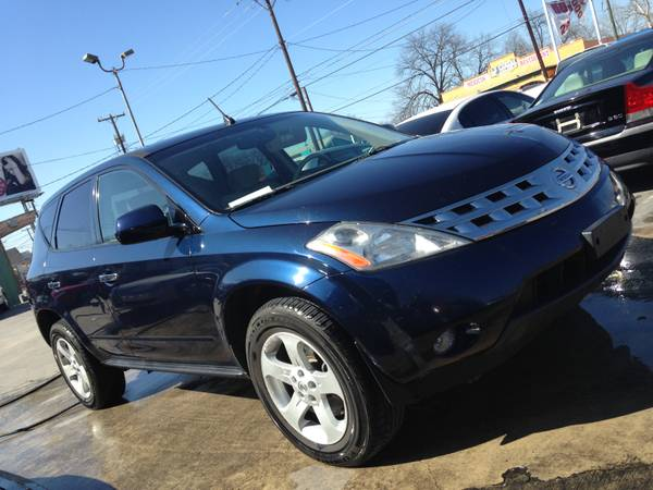2005 NISSAN MURANO LS . . . $1900 (DOWN) IN HOUSE FINANCING (718 W HILDEBRAND . . ROJAS AUTO GROUP)