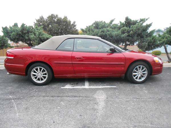 Chrysler Sebring 2006 Touring Convertible Red Only 36K Miles - $9600 (nw san antonio)