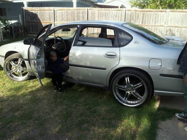 04 Chevy Impala Grey 22 Rims Low pro tires As is $3800 obo - $3400 (Southwest)