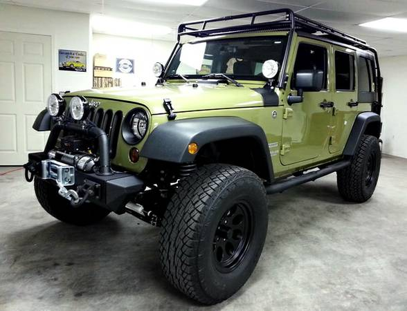 Custom Built Survival Jeep 2013 JK Wrangler Unlimited (Houston TX)