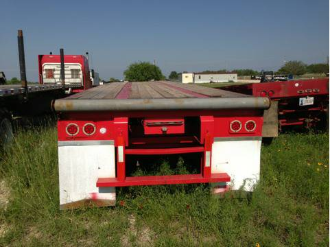 Shoobuilt 45 Oilfield Float with rolling tailboard - $7000 (Von Ormy)
