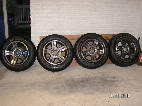 Stock Ford F150 Rims And Tires - $500 (San Antonio, TX)