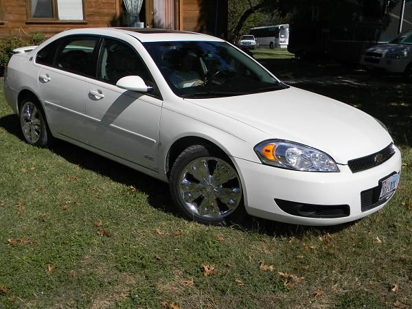 2008 Chev Impala SS (White) 64k miles Lowest Priced Pre-Owned - $11900 (SanAntonio)