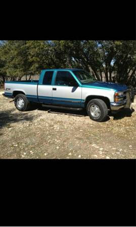 Beautiful 97 Chevy Z71 4wd Truck 75k original miles - $7700 (Johnson City)