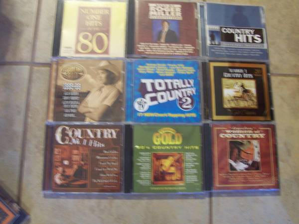 country music cd s  23 total  -   x0024 15  San Antonio NW