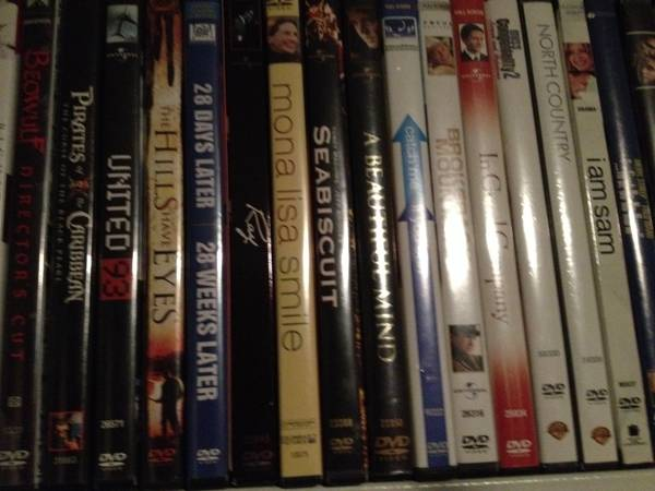 Entire DVD   Blu Ray Collection  San antonio