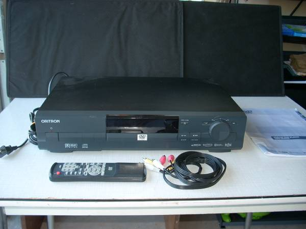ORITRON DVD PLAYER - $15 (INGRAM ROAD  HWY151)
