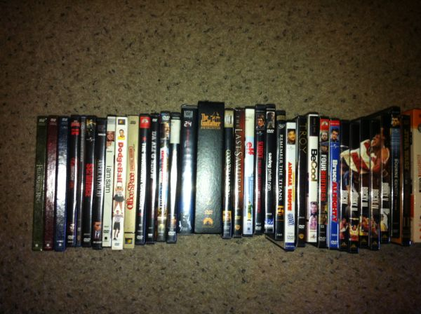 DVDs for Sale - Everything Must Go Best Deal Here - $30 (NW)