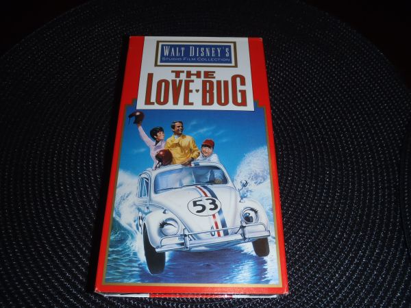 Herbie VW - Walt Disney Classics on VHS - make offer need a good home - $30 (new braunfels, tx)
