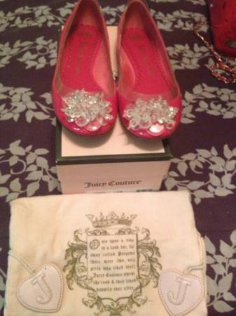 Hot pink Juicy Couture flats - $25 (SE SA)