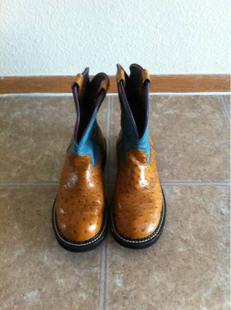 Ladies Ariat Fat Baby Boots - $40 (Ft. Sam Houston)