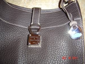 DOONEY BOURKE PURSE BROWN EXC. COND. FOR CHRISTMAS GIFT - $60 (MARBACH410)