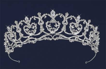NEW Wedding Accessories, Veils, Tiaras, Headband, Earrings All Crystal - $1 (410 at Broadway)