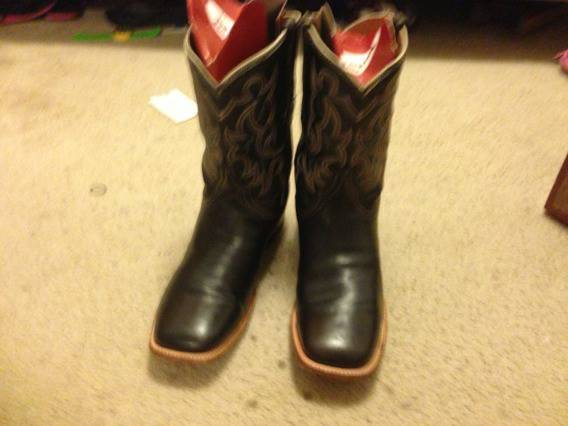 Mens Lucchese Resistol Ranch Cowboy Boots - $150 (S.A)