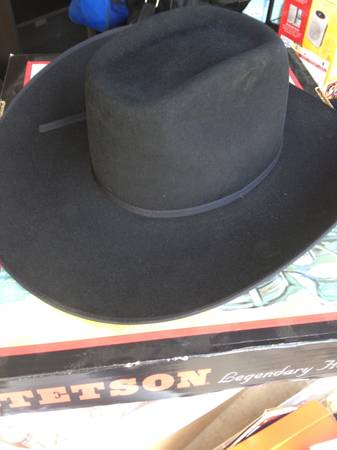 STETSON HAT (4X BEAVER) - $45 (41090 west)