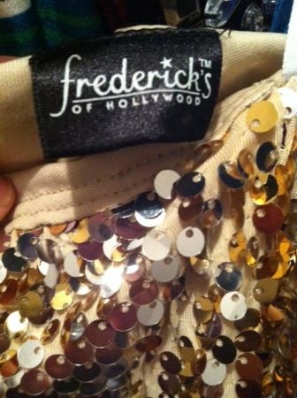 Fredericks of Hollywood, Gold Sequin Dress - $30 (NW- Tezel area)