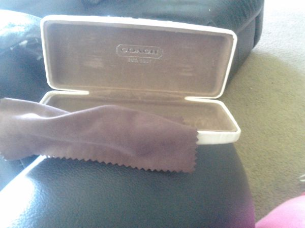 Coach sun glasses case only - $60 (North)
