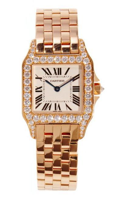 Unisex Cartier Watch 100 Authentic Gold and SS Diamonds   Chrissy Guedry  Wrist Watch