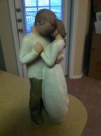 Willow Tree Promise statue  - $25 (San Antonio )