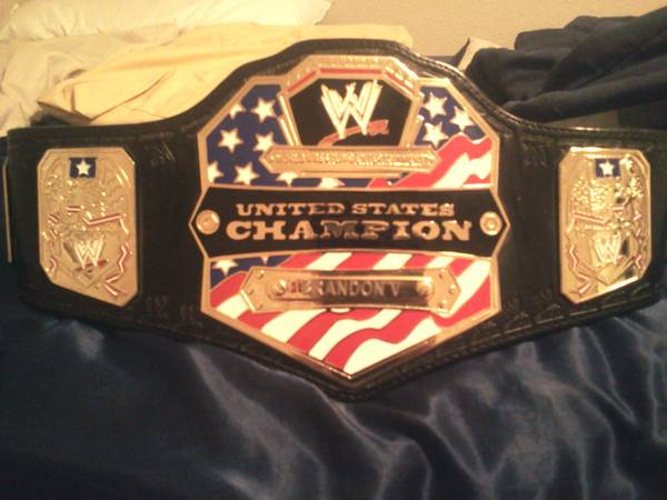 WWE Belt United States Chionship Replica Kids Size - $100 (11074 Moonlit Park)