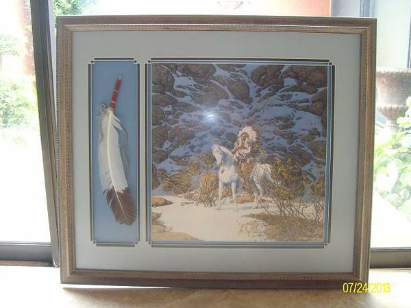 EAGLE HEART by Bev Doolittle - $199