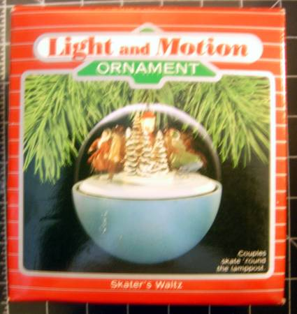 Hallmark Light and Motion Christmas Ornaments - $10 (NE SA)