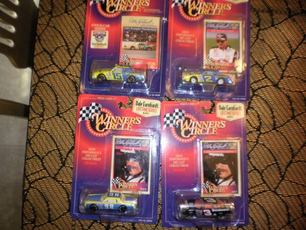 nascar dale earnhardt 1 64 diecast lot of 44 - $65 (converse)
