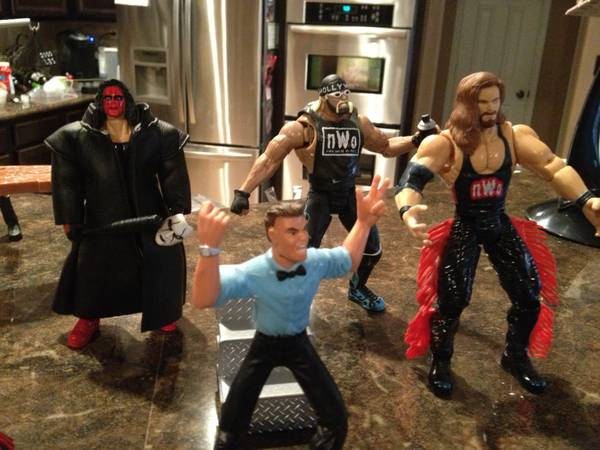 Lot of Loose NWO Wrestling Action Figures - $25 (Alamo Ranch)