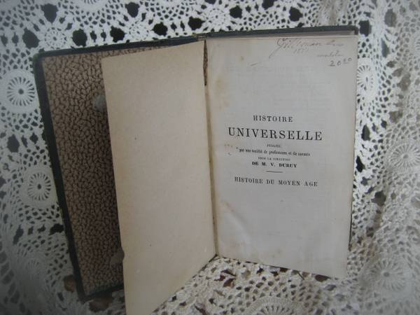 Historie Universelle  Paris -Published 1880 -   x0024 20  north central