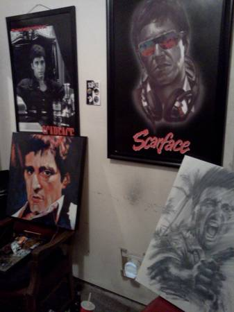 Scarface Framed Posters Canvass FOR SALE - $2050 (san antonio)