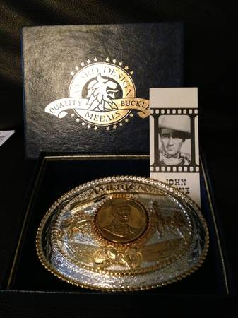 American Icon Rodeo Type Belt Buckle - $275