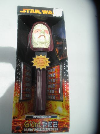 Star Wars Giant Pez Candy Roll Dispenser (Emperor Palpatine) - $40 (NW)