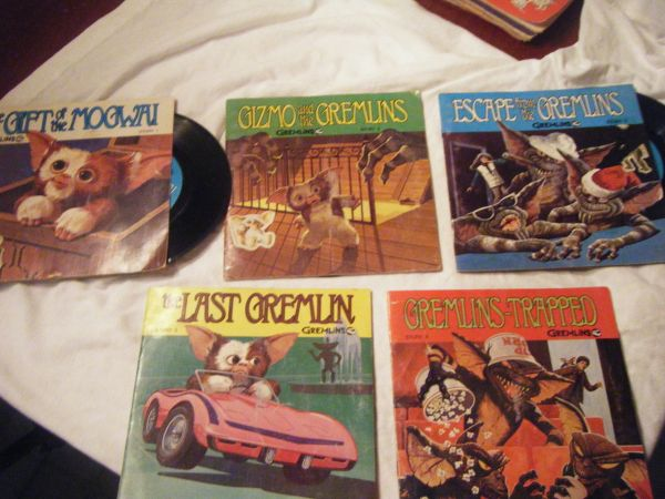 1994 Read Along Gremlins Record Books - $50 (New Braunfels,TX)