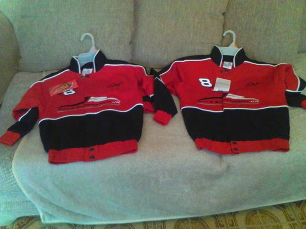 (2) Brand New Dale Earnhardt Jr. Jackets (San Antonio, Texas)