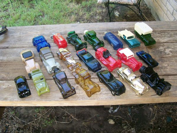 Lot of 21 Vintage AVON Car Bottle Decanters - $60 (Leon Springs Area)