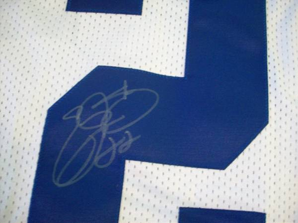 EMMITT SMITH DALLAS COWBOYS SIGNED AUTHENTIC REEBOK JERSEY - $200 (STONEOAK)