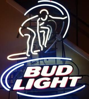 BUD LIGHT NEON SIGN - $175 (NESA)