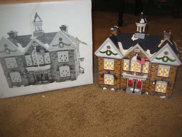 Dept 56 Christmas Lake High School (North Central)