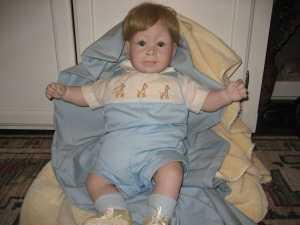 Prince William Baby Doll-sculptured by Lee Middleton 1983 - $125 (N.E. San Antonio)