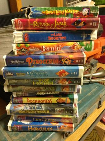 VHS Walt Disney movie - $1 (N)