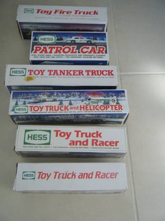Boxed Hess Truck Collection - $75 (Boerne)